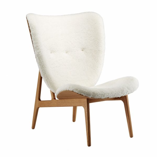 Elephant chair, Natural – Sheepskin – Off White