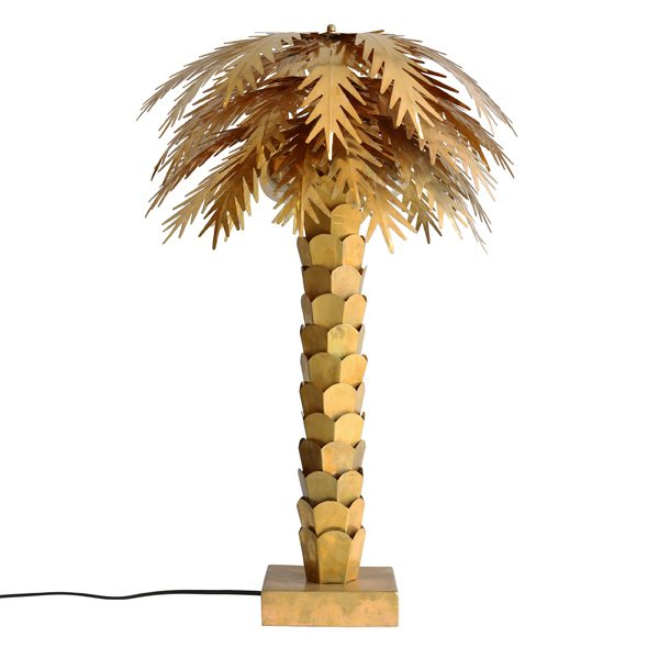 Kjøp Lampe Palm Messing 68 cm | Bordlamper | KitchenTime